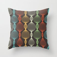 Geo Bulbs Throw Pillow