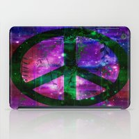 Peace Symbol And Infused… iPad Case