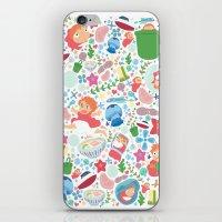 Ponyo Pattern - Studio Ghibli iPhone & iPod Skin