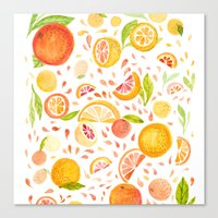 Citrus Canvas Print