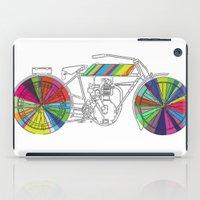 Rainbow Cycle iPad Case