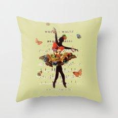 Butterfly Waltz Throw Pillow