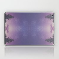 Purple Pines Laptop & iPad Skin