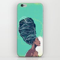 Erykah Badu iPhone & iPod Skin