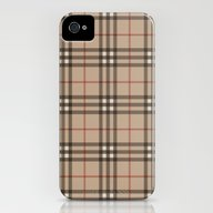 Burberry Plaid - Like De… iPhone (4, 4s) Slim Case