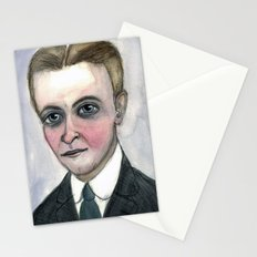 This Side of Fitzgerald, F. Scott Fitzgerald Literary Portrait Stationery Cards