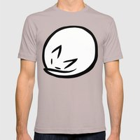 Zen Cat Mens Fitted Tee Cinder SMALL