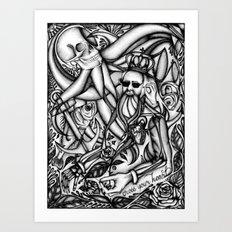 Cross Your Heart Art Print