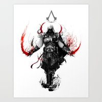assassin's creed ezio Art Print