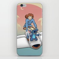 Nobody Gets Left Behind iPhone & iPod Skin