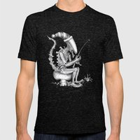 Alien Gnome Mens Fitted Tee Tri-Black SMALL