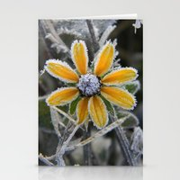 frozen smile Stationery Cards