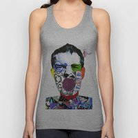 Mr Brandon Flowers, Hey Hot Stuff! Unisex Tank Top
