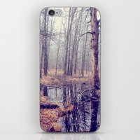 iPhone & iPod Skin featuring tread softly by Mary Carroll