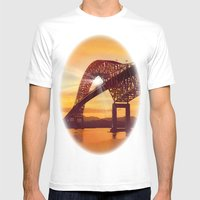 Pan-American Bridge Mens Fitted Tee White SMALL