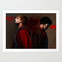 Two Sides Of The Same Co… Art Print