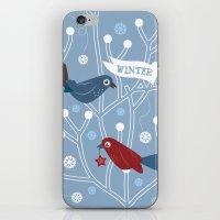 4 Seasons - Winter iPhone & iPod Skin