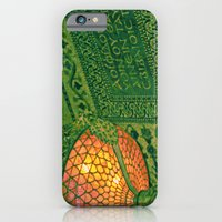 Chicago Cultural Center ~ architecture tiffany lamp detail iPhone 6 Slim Case