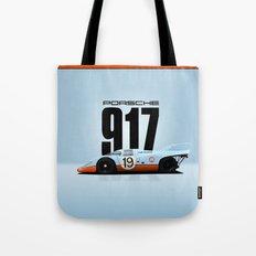 Porsche 917-026 Gulf Racing Tote Bag