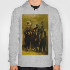 Abstract Figurative art Hoody