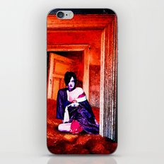 The Woman in the Dunes iPhone & iPod Skin