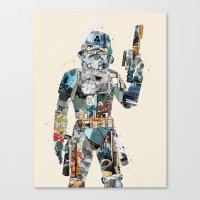 Modern Trooper Canvas Print