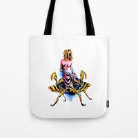 Mantis water color Tote Bag