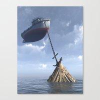 Drydock Canvas Print