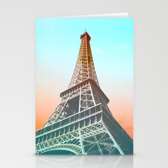 Eiffel  Stationery Card
