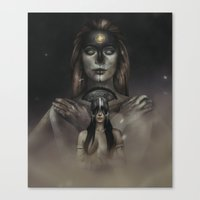 The Lady of the Abyss.  Canvas Print