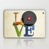 Love is Music Laptop & iPad Skin