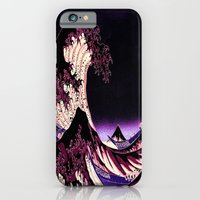 iPhone Cases featuring The Great WAVE by PureVintageLove