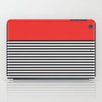 STRIPE COLORBLOCK {POPPY… iPad Case