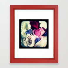 November Roses Framed Art Print