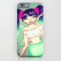 iPhone & iPod Case featuring Magical Girl by gottalovedrawing