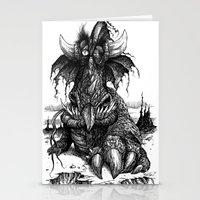 Drowsy Dragon Stationery Cards