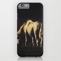 horses iPhone & iPod Cases featuring Horses by Ni.Ca.