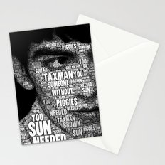The Fab Four Songs - George Stationery Cards