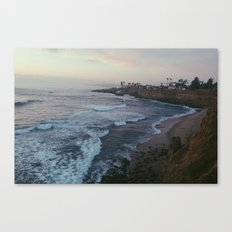 sunset cliffs.  Canvas Print