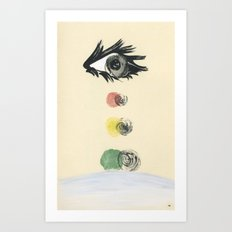 stop, drop and roll Art Print