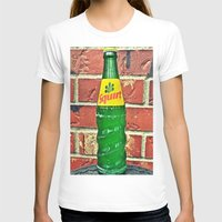 Squirt Soda Womens Fitted Tee White SMALL