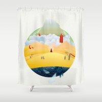 My Journey Shower Curtain