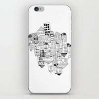 CLUSTER (FXCK) iPhone & iPod Skin