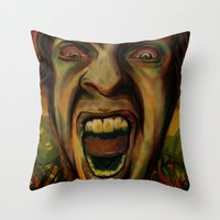 We Hungry Throw Pillow