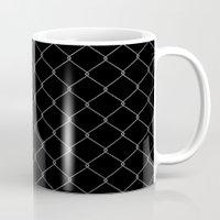 Wire Fence Mug