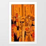 The Big Lebowski (varian… Art Print