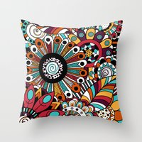 Penelope. Throw Pillow