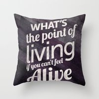 What's the point Throw Pillow