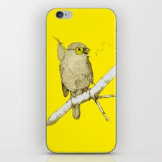 bindlebird is the word iPhone & iPod Skin