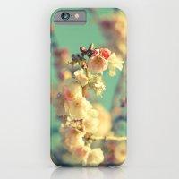 Pink Blue Blossom iPhone 6 Slim Case
